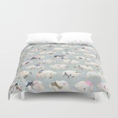 Psychedelic Bears Duvet Cover