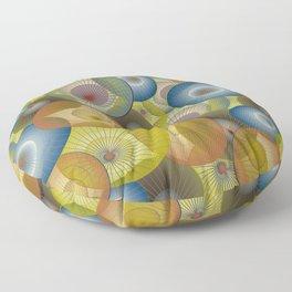 parasols Floor Pillow