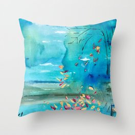 Will You Catch Me If I Fall Throw Pillow