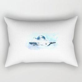 Three whales Rectangular Pillow