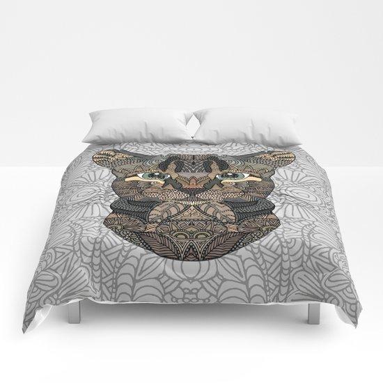 Tabby Cat Comforters