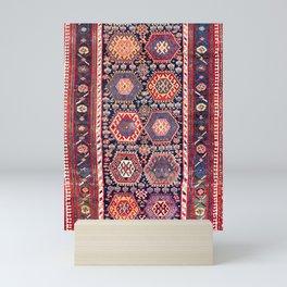 Kurdish Northwest Persian Rug Print Mini Art Print