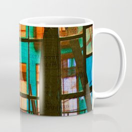 Outside My Window, Urban Art Coffee Mug