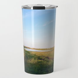 """""""Afternoon at the Marsh, Tybee Island, Georgia"""" by Simple Stylings Travel Mug"""