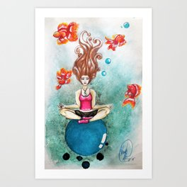 Finding Nirvana Art Print