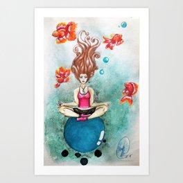 Finding Nirvana Art Print