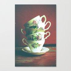 Vintage Tea 2 Canvas Print