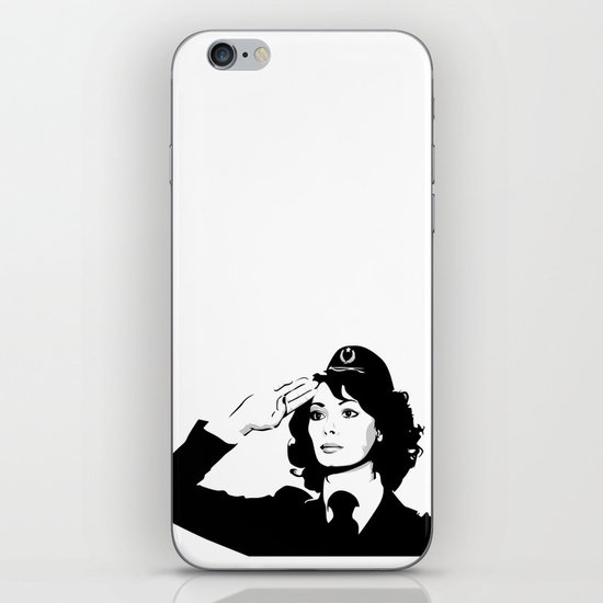 La Poliziotta iPhone & iPod Skin