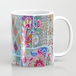 Vintage Shabby Quilt Coffee Mug