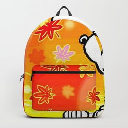 Snoopy saw the sunset Backpack