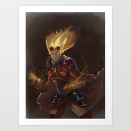 Chandra MTG Art Print