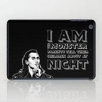 loki iPad Cases featuring Loki by Beehive Dezines