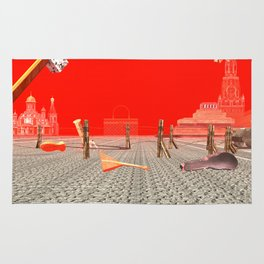 Squared: Russian Modernism Rug