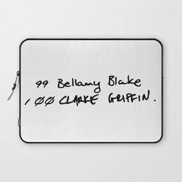 The List Laptop Sleeve