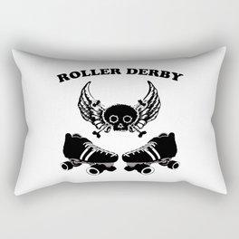 Roller Derby Wings Rectangular Pillow