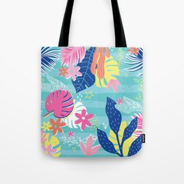 Tropical Vibes Tote Bag
