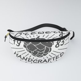 Brewery Handcrafted Fashion Modern Design Print! Beer style Fanny Pack