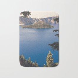 Wild Blue Lake Bath Mat