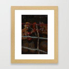 Uppercut Framed Art Print