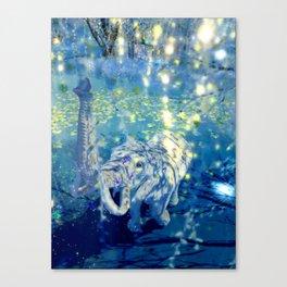 Elephant Joy Canvas Print