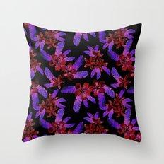 Tahitian Garden {E} Throw Pillow