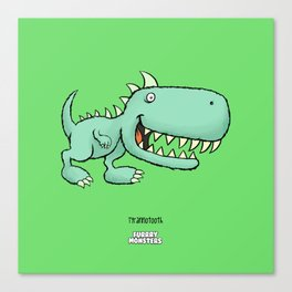 Tyrannotooth Canvas Print