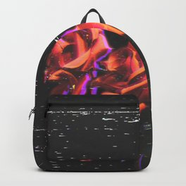 Dripping Grunge Rose Backpack