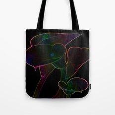 Glowing Lilies Tote Bag