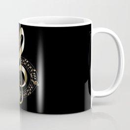 Golden G Cleff Coffee Mug