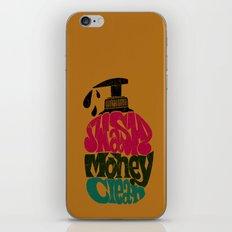 Wash Money Clean iPhone & iPod Skin