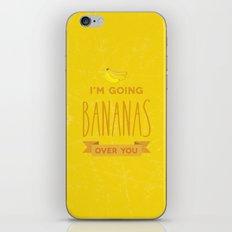 Going bananas over you iPhone & iPod Skin
