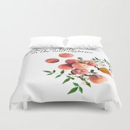 Call Me By Your Name - Inscription Duvet Cover