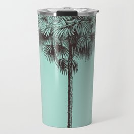 Antique Palm Tree Illustration I Travel Mug