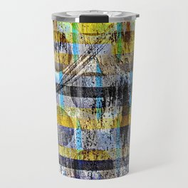 ABSTRACT/LIPSTICK ON A PIG Travel Mug