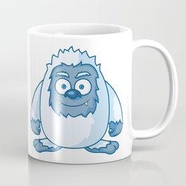 Cute Yeti Cartoon Character Coffee Mug