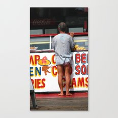 Where are His Pants? Canvas Print