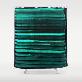 We Have Cold Winter Teal Dreams At Night Shower Curtain
