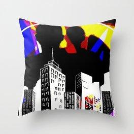Cabsink16DesignerPatternLIC Throw Pillow