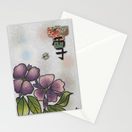 Buzzing Around Stationery Cards
