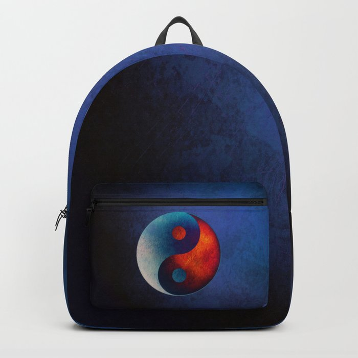 Yin Yang Symbol Backpack