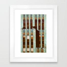 Art Deco Detail of the Eastern Building - Los Angeles #76 Framed Art Print