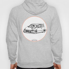 Crazy Car Art 0211 Hoody