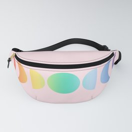 Not a Phase Moon Rainbow Fanny Pack