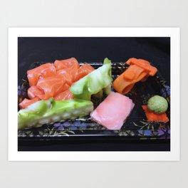 art food Art Print
