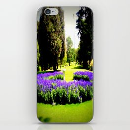 When the World wearies, there is always the Garden! iPhone Skin