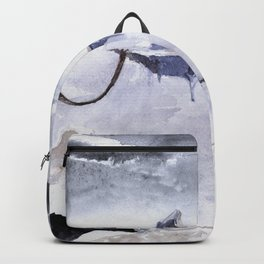 Isolated Volcano Backpack