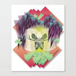 Neon Ritual Canvas Print