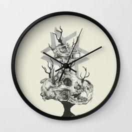 Last breath Wall Clock