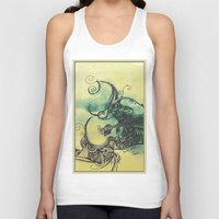 guitar Tank Tops featuring guitar by Joanne Chen