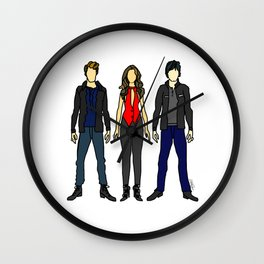 Outfits of Vamps Wall Clock